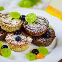 Desiatové muffiny