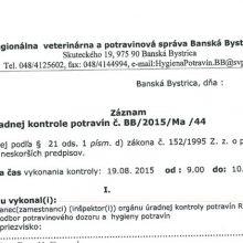 Analýza nepotvrdila prítomnosť baktérie Clostridium botulinum v neotvorených výrobkoch Alfa Bio